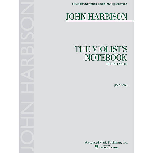 Associated The Violist's Notebook (Books I and II) String Series Softcover Composed by John Harbison-thumbnail