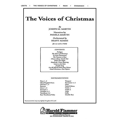 Shawnee Press The Voices of Christmas Score & Parts