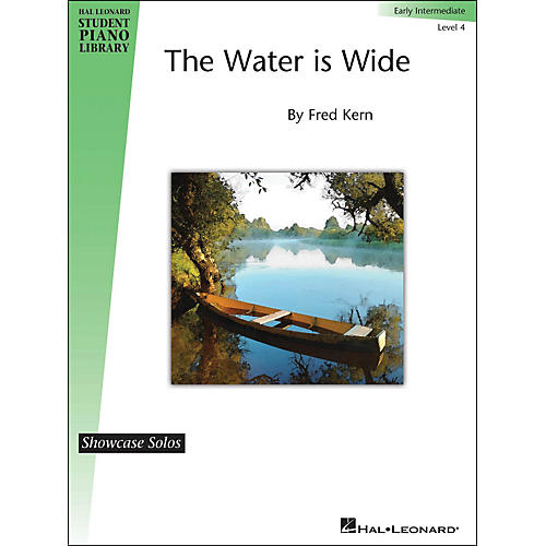 Hal Leonard The Water Is Wide - HLSPL Showcase Solo Level 4 Early Intermediate-thumbnail