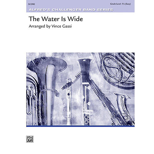 Alfred The Water Is Wide Concert Band Grade 1.5 Set-thumbnail