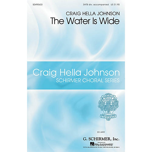G. Schirmer The Water Is Wide (Craig Hella Johnson Choral Series) SATB Divisi arranged by Craig Hella Johnson-thumbnail