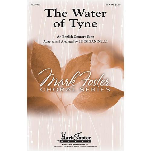 Shawnee Press The Water of Tyne SSA arranged by Luigi Zaninelli-thumbnail