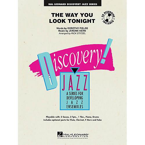 Hal Leonard The Way You Look Tonight Jazz Band Level 1 Arranged by Rick Stitzel-thumbnail