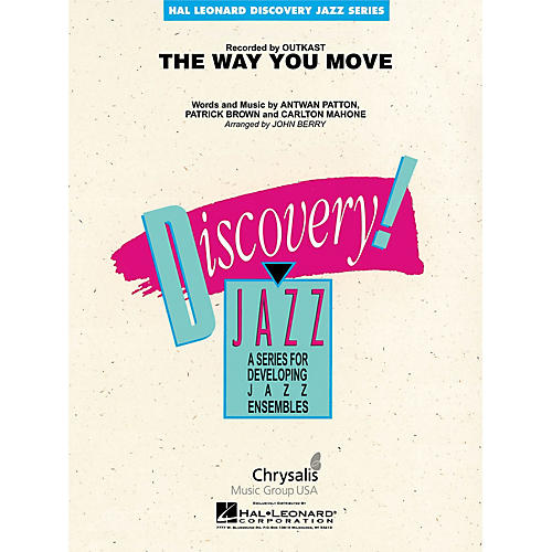 Hal Leonard The Way You Move Jazz Band Level 1-2 by OutKast Arranged by John Berry-thumbnail