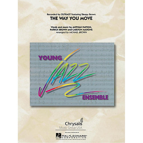 Hal Leonard The Way You Move Jazz Band Level 3 by OutKast Arranged by Michael Brown