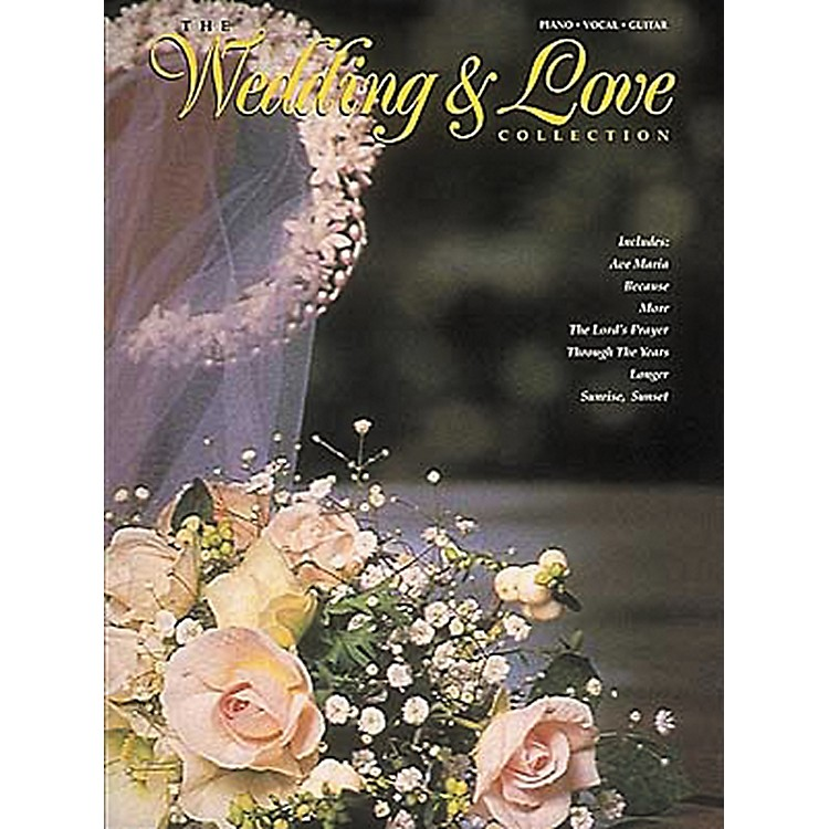 Hal LeonardThe Wedding And Love Collection Piano, Vocal, Guitar Songbook