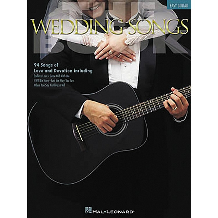 Hal Leonard The Wedding Songs Easy Guitar Tab Songbook