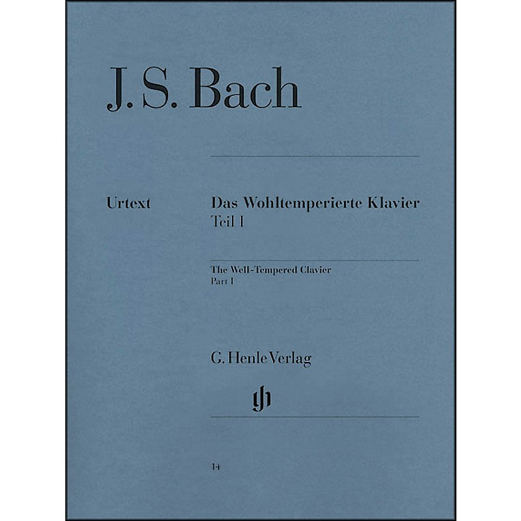 G. Henle Verlag The Well-Tempered Clavier BWV 846-869 Part I   By Bach / Heinemann