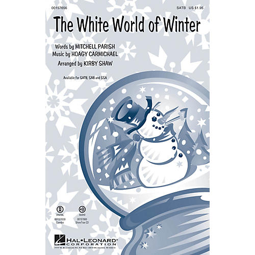 Hal Leonard The White World of Winter SAB Arranged by Kirby Shaw-thumbnail