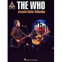 Hal Leonard The Who Acoustic Guitar Collection Guitar Tab Songbook