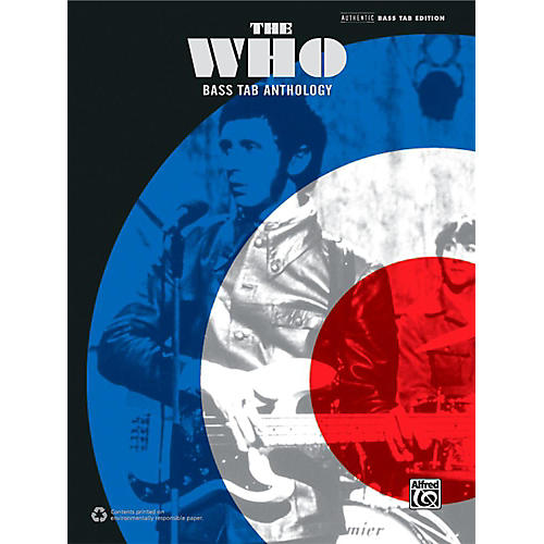 Alfred The Who: Bass TAB Anthology - Authentic Bass TAB Songbook-thumbnail