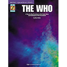 Hal Leonard The Who Guitar Signature Licks Book with CD