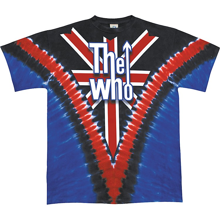 Gear One The Who Long Live Rock T-Shirt Union Jack Extra Large