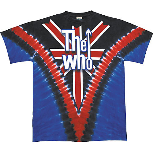 The Who The Who Long Live Rock T-Shirt Union Jack Medium