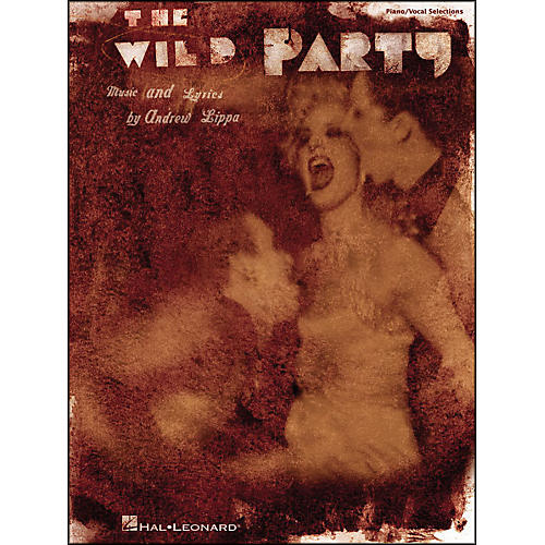 Hal Leonard The Wild Party arranged for piano, vocal, and guitar (P/V/G)-thumbnail