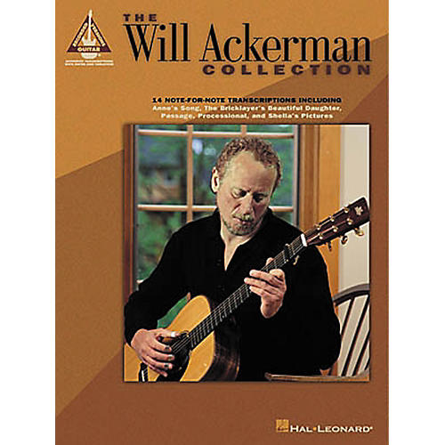 Hal Leonard The Will Ackerman Collection Guitar Tab Songbook