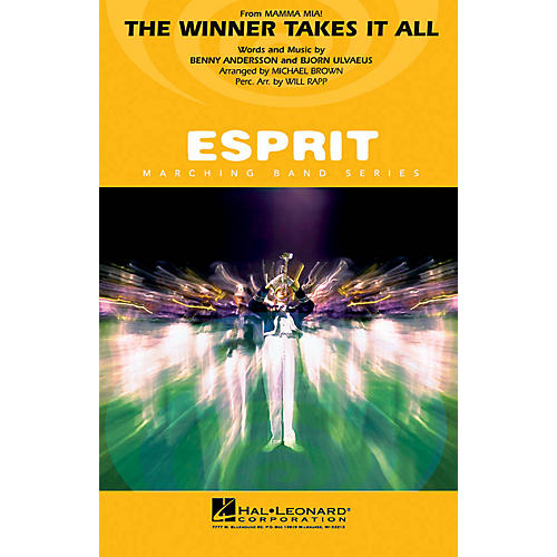 Hal Leonard The Winner Takes It All (from Mamma Mia!) Marching Band Level 3 by ABBA Arranged by Michael Brown