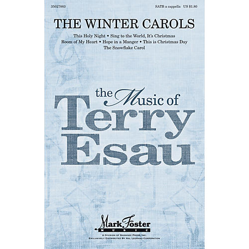 Shawnee Press The Winter Carols SATB a cappella composed by Terry Esau-thumbnail