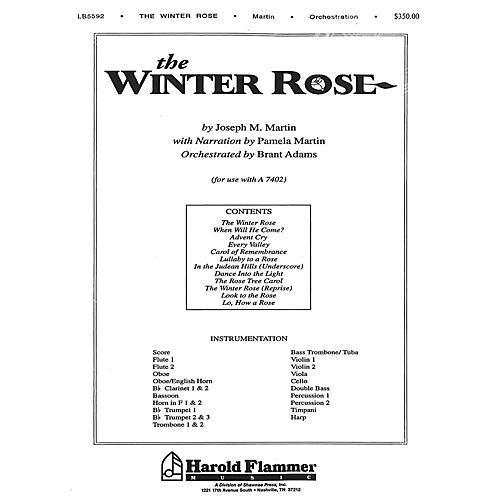 Shawnee Press The Winter Rose Score & Parts composed by Joseph M. Martin-thumbnail