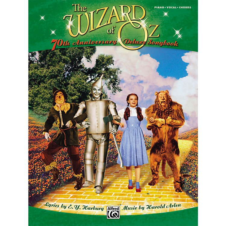Alfred The Wizard of Oz 70th Anniversary Deluxe Songbook Piano/Vocal/Chords