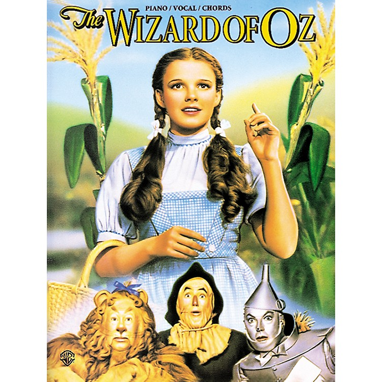 AlfredThe Wizard of Oz Movie Selections Piano/Vocal/Chords