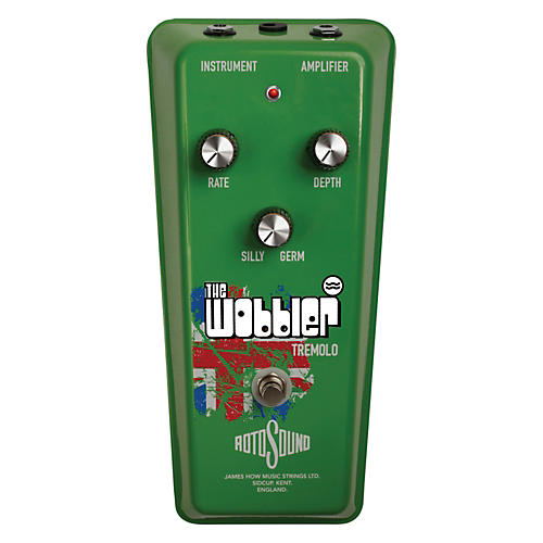 Rotosound The Wobbler Vintage Tremolo Guitar Effects Pedal-thumbnail