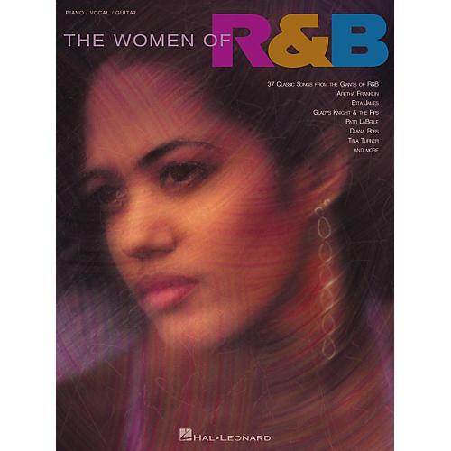 Hal Leonard The Women of R'n'B Piano/Vocal/Guitar Songbook-thumbnail