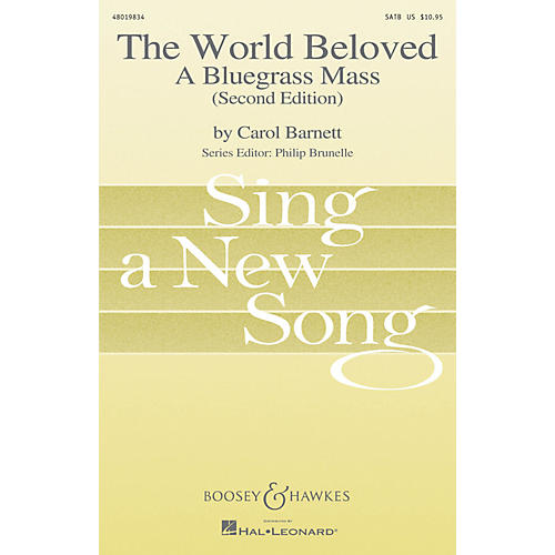 Boosey and Hawkes The World Beloved: A Bluegrass Mass (Sing a New Song Series) Vocal Score composed by Carol Barnett-thumbnail