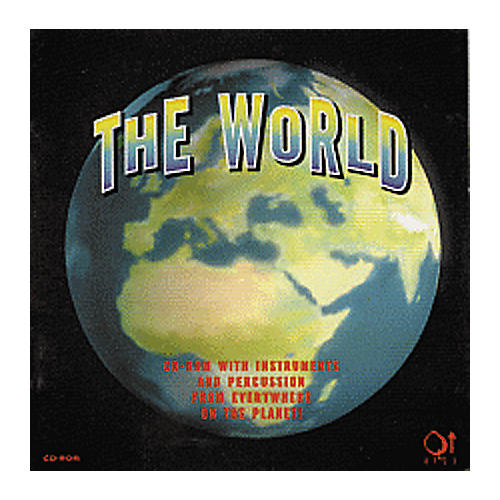 Q Up Arts The World Sample WAV CD ROM