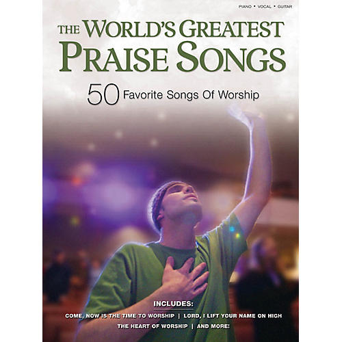 Shawnee Press The World's Greatest Praise Songs (50 Favorite Songs of Worship) Shawnee Press Series Softcover-thumbnail