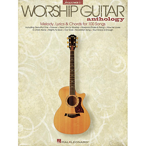 Hal Leonard The Worship Guitar Anthology - Volume 1 Guitar Collection Series Softcover Performed by Various-thumbnail