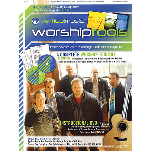 Hal Leonard The Worship Songs of MercyMe Integrity Series Softcover with DVD Performed by MercyMe-thumbnail