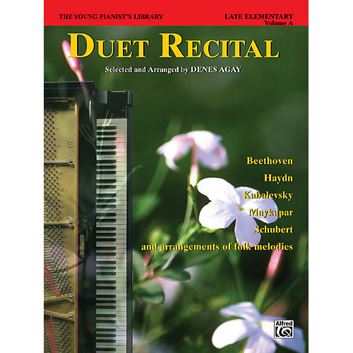 Alfred The Young Pianist's Library Duet Recital Book Book 6A