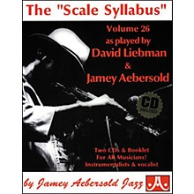 """Jamey Aebersold The""""Scale Syllabus"""" Booklet and 2-CD Set"""