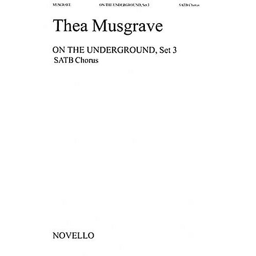 Music Sales Thea Musgrave: On The Underground, Set 3 Music Sales America Series-thumbnail
