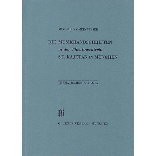 G. Henle Verlag Theatinerkirche St. Kajetan in München Henle Books Series Softcover