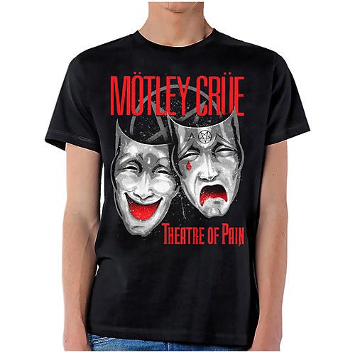 Motley Crue Theatre of Pain Cry T-Shirt X Large