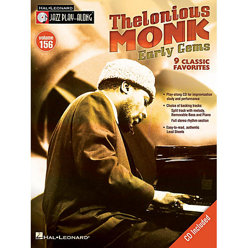Hal Leonard Thelonious Monk - Early Gems Jazz Play Along Series Softcover with CD Performed by Thelonious Monk-thumbnail