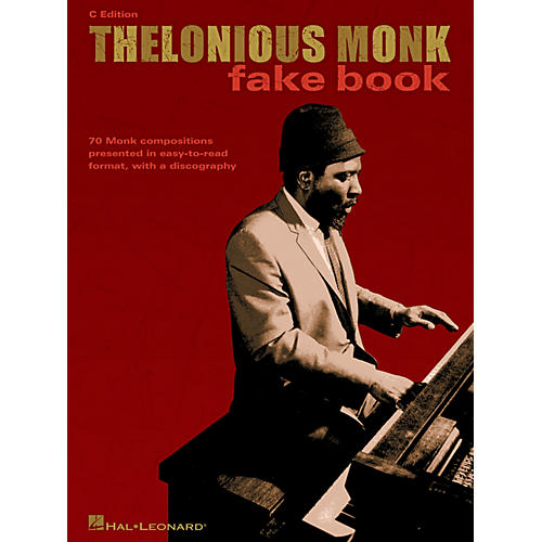 Hal Leonard Thelonious Monk Fake Book (C Edition) Artist Books Series Performed by Thelonious Monk-thumbnail