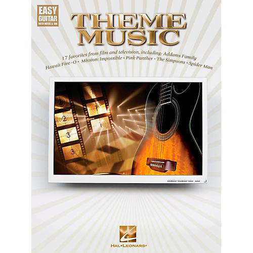 Hal Leonard Theme Music - Easy Guitar With Tab