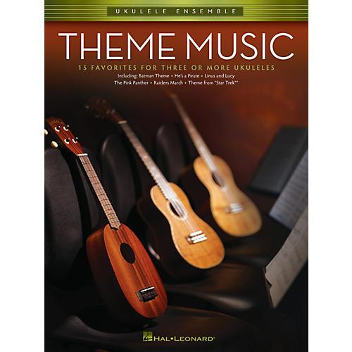 Hal Leonard Theme Music (Ukulele Ensembles Early Intermediate) Ukulele Ensemble Series Softcover-thumbnail