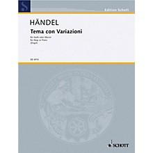 Schott Theme and Variations Schott Series