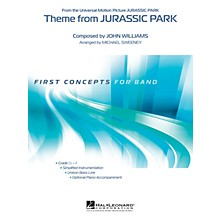 Hal Leonard Theme from Jurassic Park Concert Band Level 0.5 Arranged by Michael Sweeney