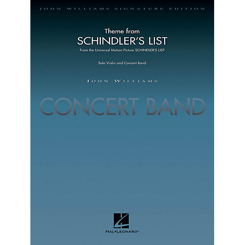 Hal Leonard Theme from Schindler's List (Score and Parts) Concert Band Level 5 Arranged by John Moss-thumbnail