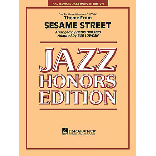 Hal Leonard Theme from Sesame Street Jazz Band Level 5 Arranged by Bob Lowden-thumbnail