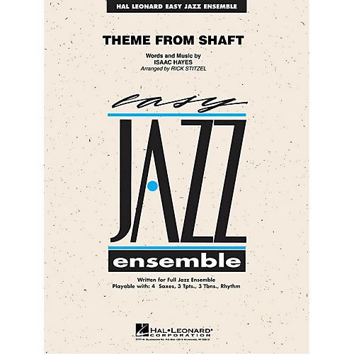 Hal Leonard Theme from Shaft Jazz Band Level 2 Arranged by Rick Stitzel-thumbnail