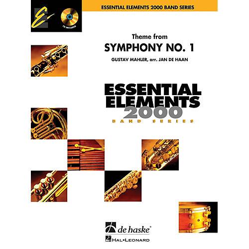 De Haske Music Theme from Symphony No. 1 Concert Band Level 1.5 Arranged by Jan de Haan-thumbnail