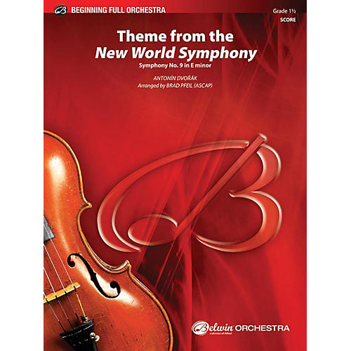 Alfred Theme from the New World Symphony Full Orchestra Grade 1.5-thumbnail