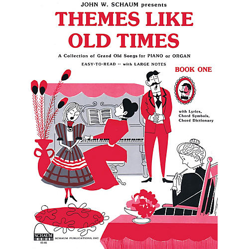 SCHAUM Themes Like Old Times, Bk 1 Educational Piano Series Softcover-thumbnail