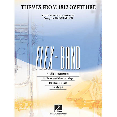 Hal Leonard Themes from 1812 Overture Concert Band Level 2-3 Arranged by Johnnie Vinson